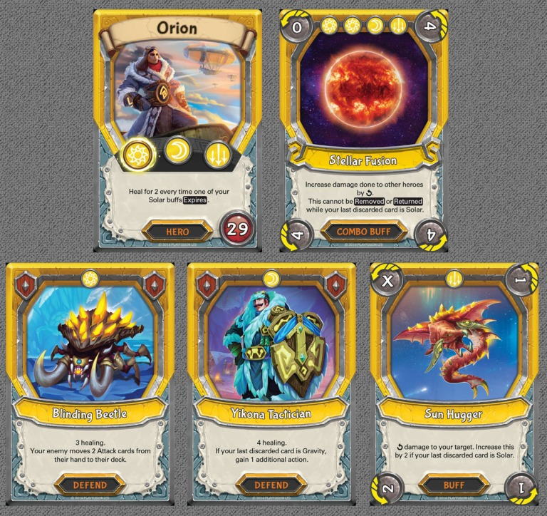 Astral Start Exclusive Cards