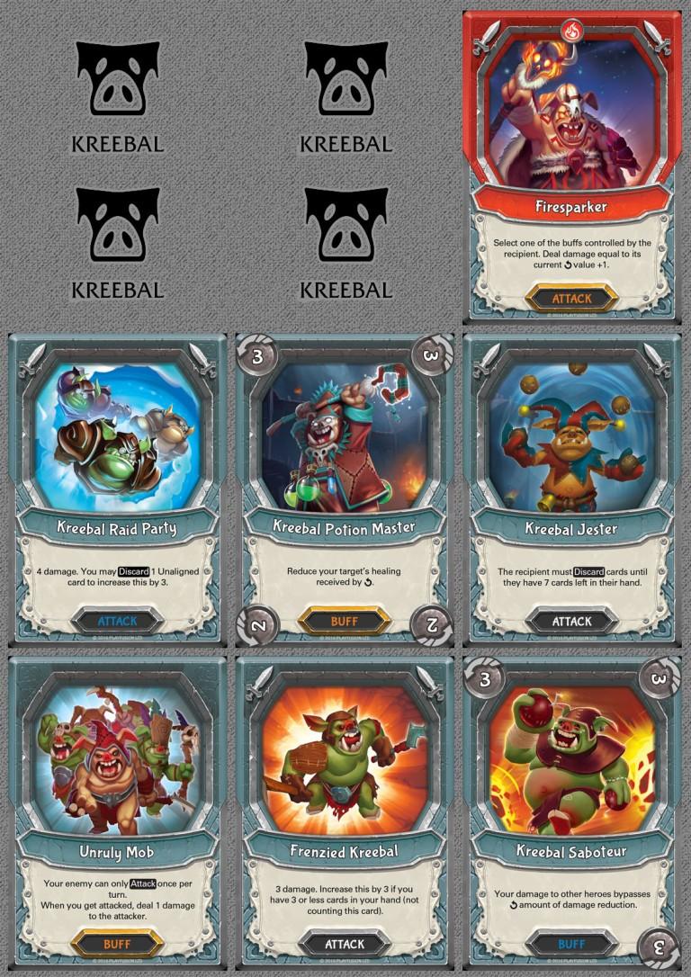 Kreebal Cards
