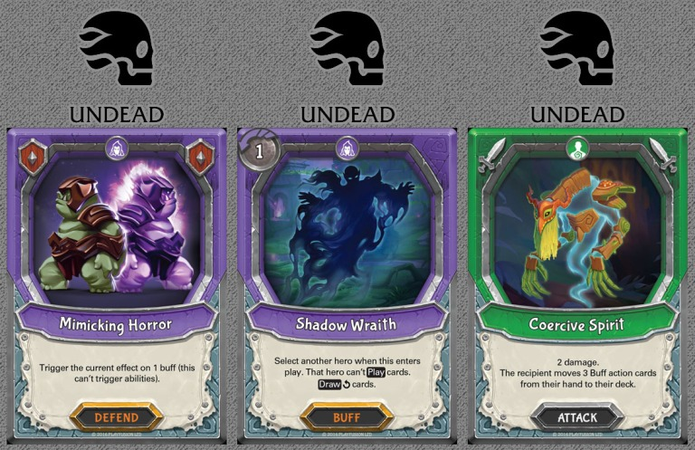 Undead Cards