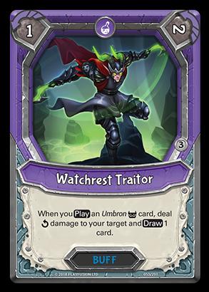 WatchrestTraitor