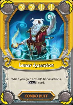 Lunar Ascension